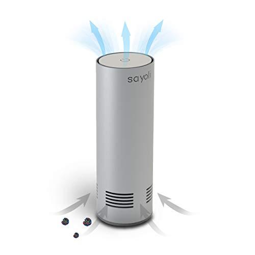 Sayoli 60 - Sterilizzatore d'Aria a Flusso UV-c, purificatore d'Aria, disinfezione Luce UV, sanitizer Portatile Lampada