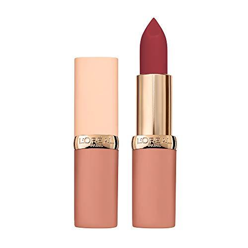 L'Oréal Paris Rossetto Lunga Durata Color Riche Free the Nudes, Non Secca le Labbra, Comfort a Lungo sulle Labbra, 06 No Hesitation, Confezione da 1