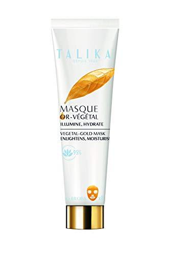 Vegetal-Gold Mask - Talika - Maschera oro rigenerante - Trattamento antiossidante e lenitivo - Per tutti i tipi di pelle - Dona radiosità alla pelle in soli 10 minuti, 11.7 cm