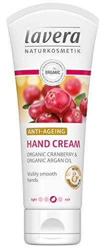 Lavera crema mani anti invecchiamento ∙ con acido ialuronico ∙ visibilmente Smooth mani ∙ vegan Organic Skin care naturale & innovative cosmetici da 75ml