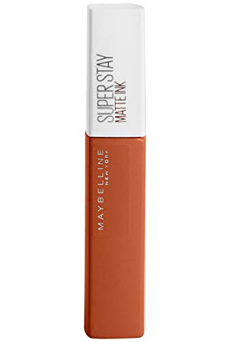 Maybelline New York Superstay Matte Ink Rossetto Liquido Tinta Labbra a Lunga Tenuta, City Edition, 135 Globetrotter