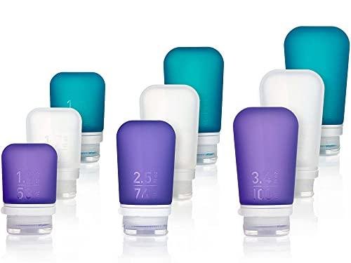 humangear, Organizer per valigie Adulti Clear/Purple/Teal taglia unica