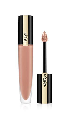 L'Oréal Paris – Inchiostro per labbra liquido opaco – rosso Signature – Tintura: I empower, Nude (110) – 7 ml