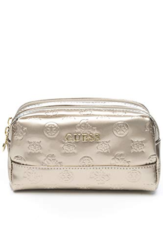 Guess BORSA DONNA PWHAPP P9373 HAPPY PEONY DOUBLE ZIP GOLD