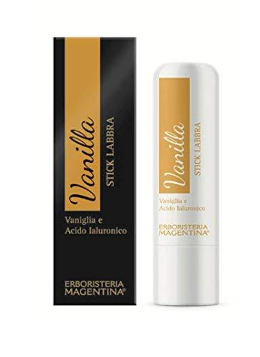 Erboristeria Magentina - Vanilla Stick Labbra con Vaniglia e Acido Ialuronico