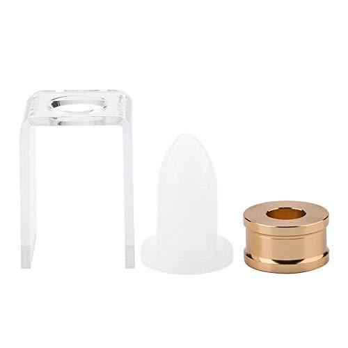 Kit di strumenti per l'artigianato Stampo per balsamo per labbra in silicone fatto in casa Stampo per rossetto fai da te da 12,1 mm(Forma della bocca dell'aquila)