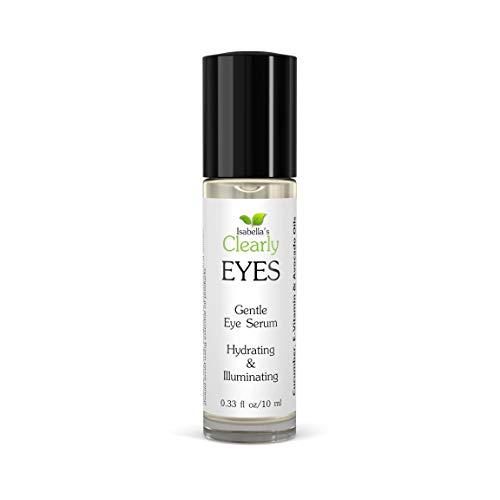 Clearly EYES siero Anti-Aging per gli occhi per idratare, Illuminare, eRassodare. Riduce le rughe sottili, le occhiaie e il gonfiore con oli tutti naturali d Avocado, Cetriolo e Vitamina E.