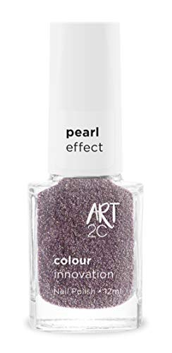Art 2C Latin Dance Diamond & Pearl Effect Nail Polish - Smalto per unghie effetto diamante e perla, 6 colori, 12 ml, colore: DP06