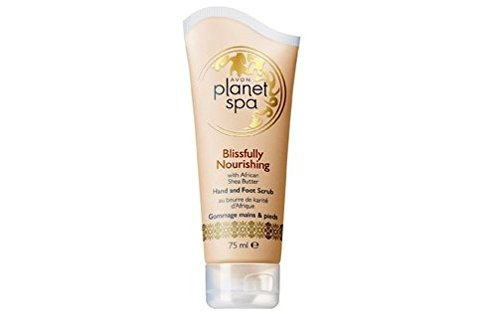 AVON Planet Spa Blissfully Nourishining - Scrub mani e piedi