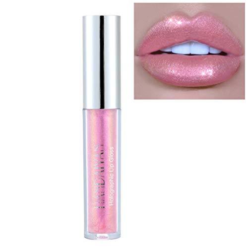 Lurrose 1pc Rossetto liquido rossetto lucido idratante per labbra lucido duraturo per feste da lavoro