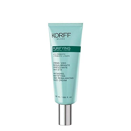 korff purifying crema viso riequilibrante 50 ml