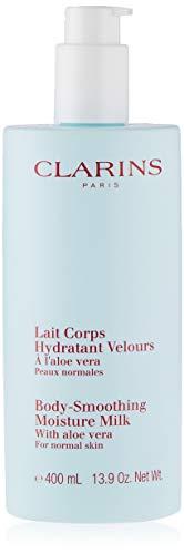 Clarins Latte per l'idratazione corpo levigante con Aloe Vera, 400 ml