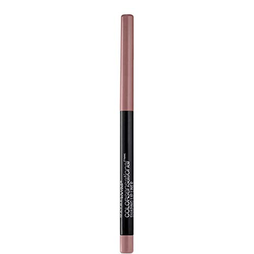 Maybelline New York Matita Labbra Color Sensational Shaping Lip Liner, Automatica, Labbra Scolpite, Dusty Rose (50), 0,3 g