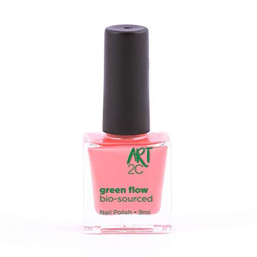 Art 2C, smalto per unghie vegan e bio 85% brevettato, ultra-puro, 24 colori, 9 ml, colore: Watermelon 26