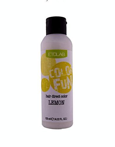 Etolab, colorazione semipermanente per capelli, 3x125 ml, giallo