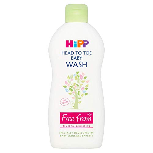 HiPP - Set di 6 lavaggi per bambini da testa a piedi, 400 ml