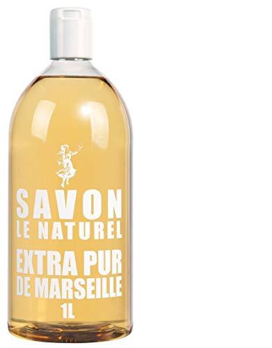 Savon Le Naturel Extra Pur - Sapone di Marsiglia, ricarica universale, 1 L