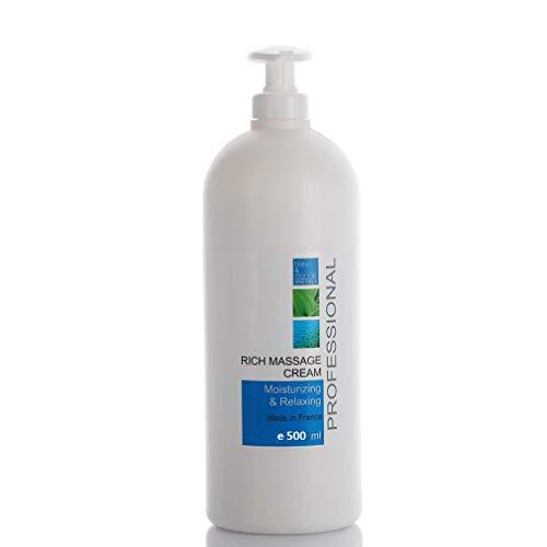 Crema Profesionale de Masaggio Vitamina E 500 ml Crema Massaggio Sportivo