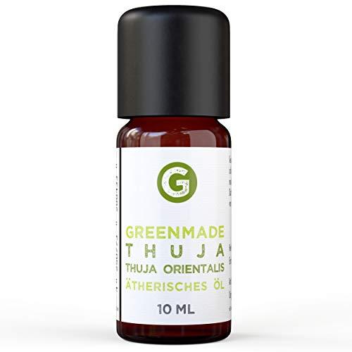 Greenmade - Olio essenziale di Thuja 10 ml, 100% naturale