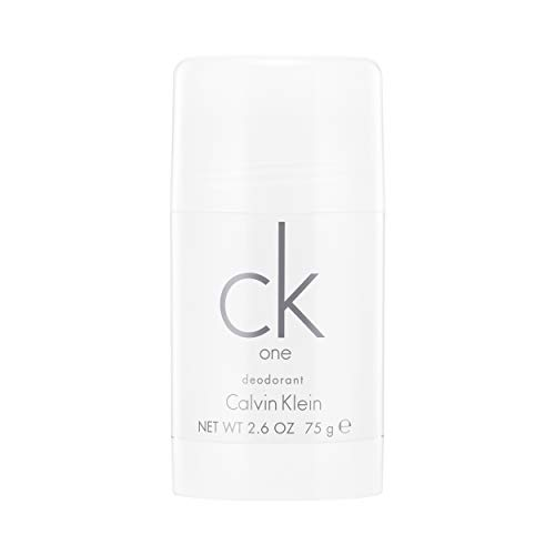 Calvin Klein CK One Deodorante Stick, Unisex, 75 gr [L'imballaggio può variare ]