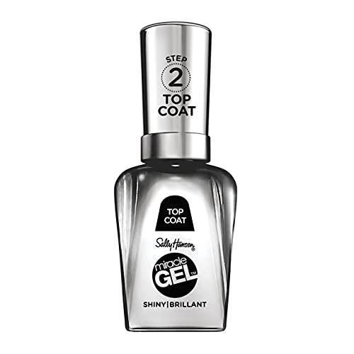Sally Hansen Smalto Unghie Miracle Gel, Smalto Gel Senza Lampada UV, Effetto Manicure Professionale, 101 Top Coat