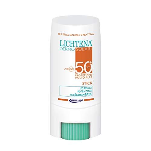 Lichtena Dermo Solari Stick 50+ Protezione Molto Alta per Zone Sensibili
