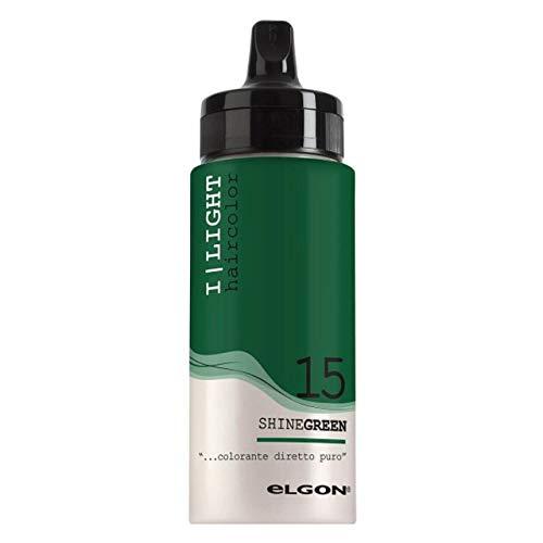ELGON HAIRCOLOR I LIGHT 15 SHINEGREEN 100 ml - COLORANTE DIRETTO PURO
