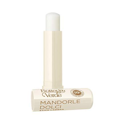Bottega Verde, MANDORLE DOLCI - Stick labbra - emolliente nutriente - con olio di Mandorle dolci (5 ml) - labbra secche