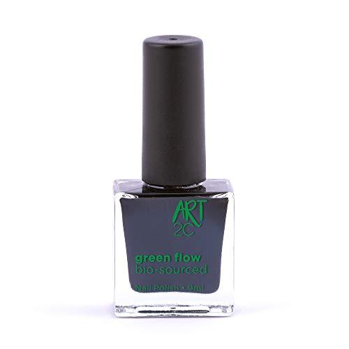 Art 2C, smalto per unghie vegan e bio 85% brevettato, ultra-puro, 24 colori, 9 ml, colore: Midnight 30