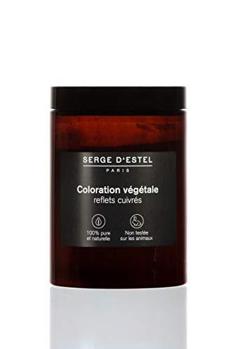 Henne Naturale 400g Colorazione Naturale di Capelli Riflessioni Rame Colorazione con Piantis 100% Naturale