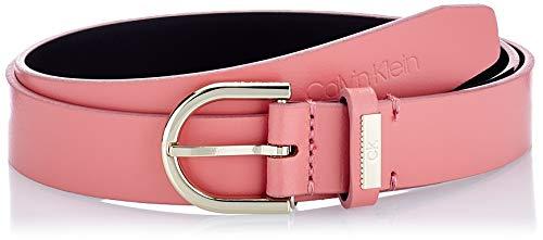 Calvin Klein Round Belt 25MM Cintura, Rosa Sfumata, 75 cm Donna