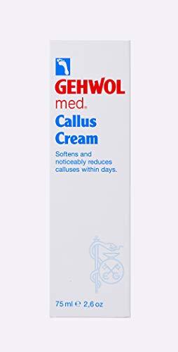 Crema Gehwol Med Callus con Urea piede e seta Estratto di 75 ml