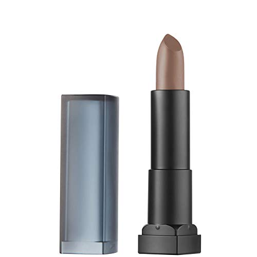 Maybelline New York Color Sensational Powder Mattes Rossetto Effetto Matte, 35 Carnal Brown