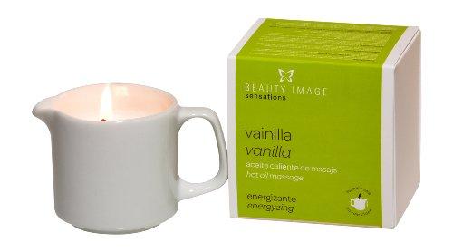 Candela olio da massaggi Beauty Image alla vaniglia