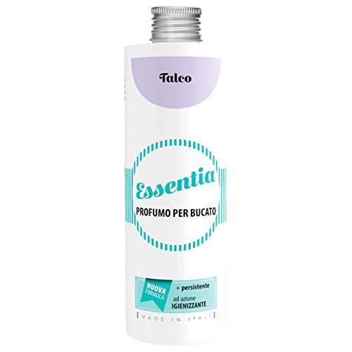 ESSENTIA Profumo per Bucato con Igienizzante, Essenza Profuma Bucato con Estratti di Oli Essenziali Naturali (Talco, 500 ml)