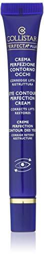 Collistar Perfecta Plus Contorno Occhi, Crema con pigmenti cromo-correttori per un'azione correttiva, liftante e ristrutturante contro occhiaie e piccole rughe, Per tutti i tipi di pelle, 15 ml