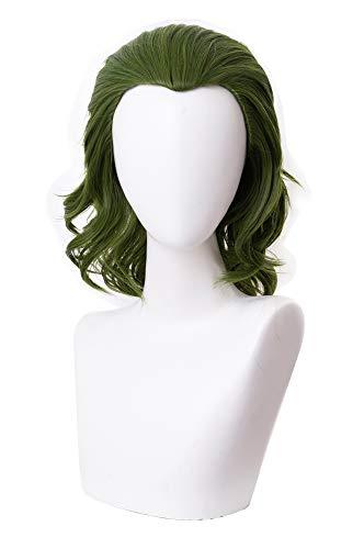 RedJade The Joker Joaquin Phoenix Arthur Fleck Joker Parrucca Cosplay Wig Verde