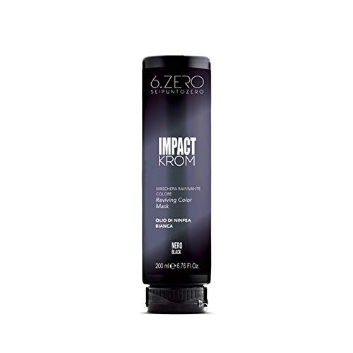 6.Zero Impact Krom Maschera Ravvivante Colore 200ml (Nero)