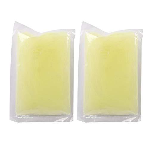 2 pezzi di cera di paraffina di cera di paraffina per idratazione e cura delle mani e dei piedi, kit di cera invernale per paraffina con basso contenuto di fusione cera paraffina (100 g/sacchetto)