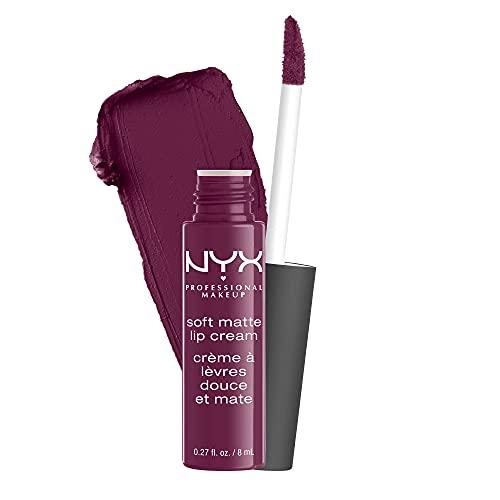 NYX Professional Makeup Soft Matte Lip Cream, Finish matte e cremoso, Colore extra-pigmentato, Long Lasting, Tonalità: Transylvania