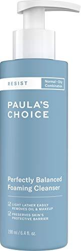 Paula's Choice Resist Detergente Viso Schiumogeno - Combatte i Brufoli e i Punti Neri - Pulizia Viso e Struccante con Acido Ialuronico - Pelli Miste o Grasse - 190 ml