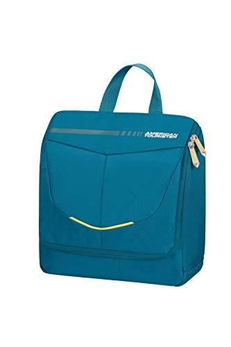 American Tourister Summerfunk Accessori da Viaggio- Kit di Prodotti per l'Igiene Personale, Taglia Unica, Turchese (Teal)