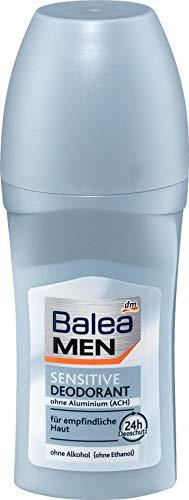 Balea MEN Deo Roll On Deodorante Sensitive, 1 x 50 ml