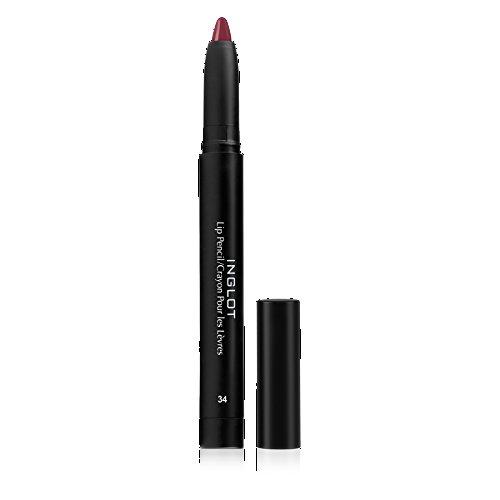 Inglot AMC, matita per labbra (Tono 34) - 1,8 g.