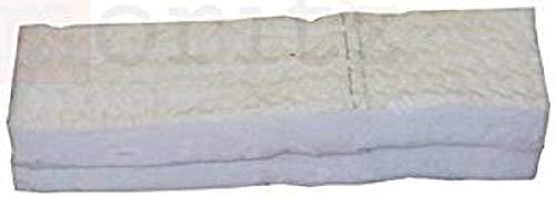 Moritz, spugna ceramica, 30x 10x 1,3cm, lana ceramica per etanolo, 2 pezzi