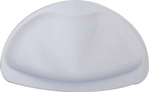 RIDDER A68006010-350 - Poggiatesta da Vasca Tecno-Plus, Colore: Bianco