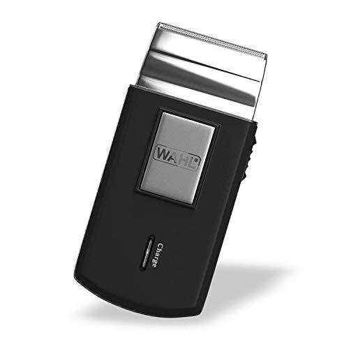 Wahl 3615-0471 - Mobile Shaver Rasoio Cordless, 10 x 4,6 x 2 cm, nero