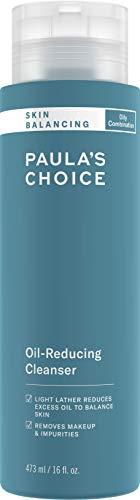 Paula's Choice Skin Balancing Detergente Viso - Pulizia Viso & Struccante Schiumogeno - Rimuove Eccesso Sebo - Combatte i Brufoli e i Punti Neri - con Aloe Vera - Pelli Miste o Grasse - 473 ml