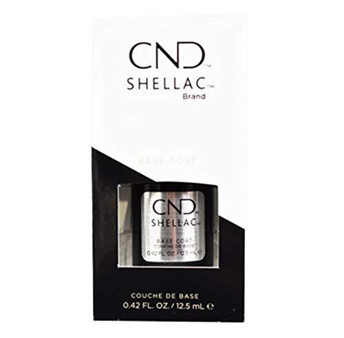 CND Shellac Base Coat, Top Coat & Xpress5 Top Coat – Disponibile in taglie S e L (Base Coat 12,5 ml)