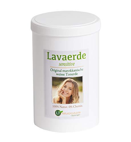 Polvere di argilla bianca / kaolin | SENSITIVE per capelli delicati e pelli secche | biologico | senza agenti chimici e senza sapone | ipoallergenico | ghassoul | 1kg